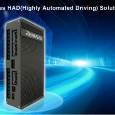 Renesas Electronics stellt HAD Solution Kit vor, um die Entwicklung von autonomen Fahrzeugen zu beschleunigen