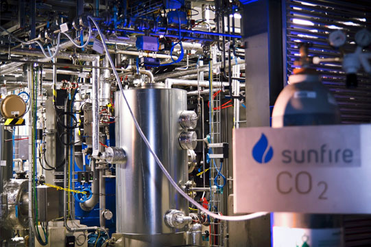 Synthetischer Öko-Diesel von sunfire