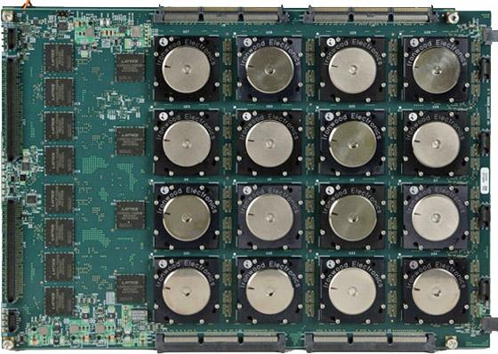 Board mit 48 TrueNorth-Chips von IBM