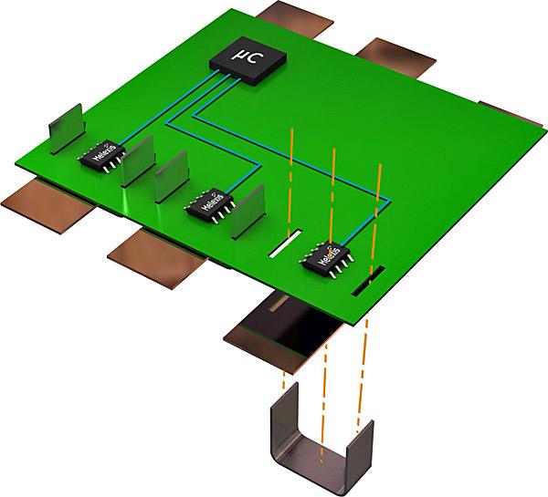 Stromsensoren für bis zu 1kA von Melexis
