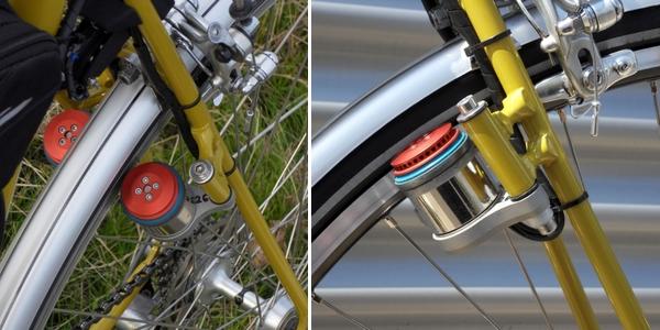 Elektrischer Reibradantrieb für Fahrräder