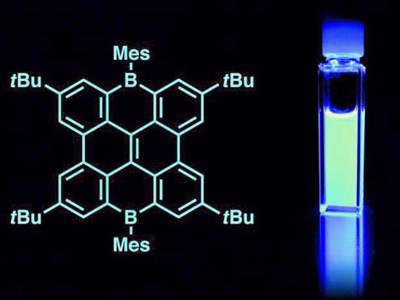 Stabile blaue Nano-Graphen-OLEDs