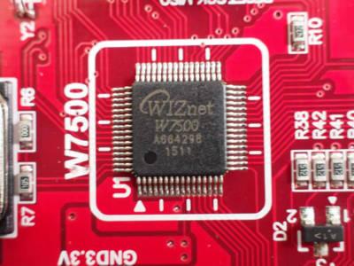 W7500: Neuer WIZnet-Chip und mehr