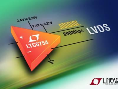 Schneller Komparator mit LVDS-Ausgängen