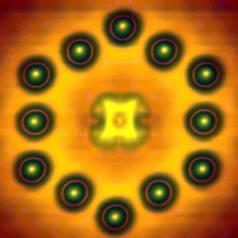 Transistor aus einem Molekül + ein paar Atomen