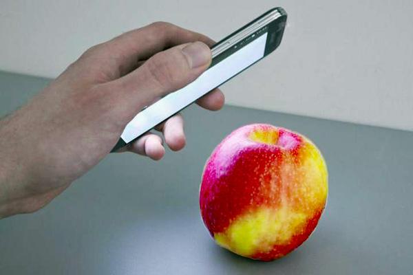 Pestizide in Äpfeln? Bild: Fraunhofer IFF