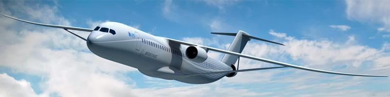 Elektroflugzeuge: Sugar Volt von Boeing. Bild: Boeing