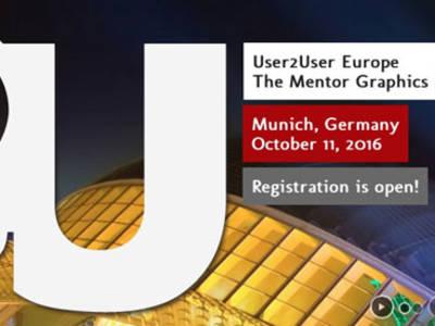 Mentor Graphics European User Conference am 11. Oktober in München