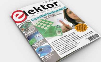 Neue Elektor-Ausgabe 06/2015 steht zum Download für Mitglieder