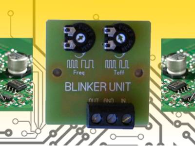 Blinky ist nicht wählerisch