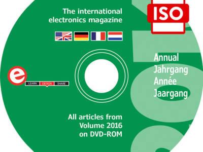 Elektor-Jahrgangs-DVD 2016 exklusiv für Abomitglieder