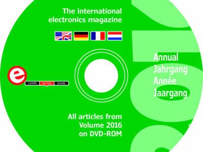 Neue Elektor-Jahrgangs-DVD 2016 steht zum Download