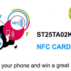 NFC mit Elektor und ST – nur noch 2 Wochen bis zum Ende des Gewinnspiels!