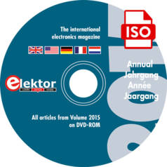 Elektor-Jahrgangs-DVD 2015 exklusiv für Abomitglieder