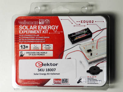 Solar Energy Experiment Kit von Velleman