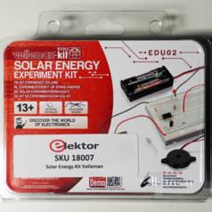 Solar Energy Experiment Kit von Velleman