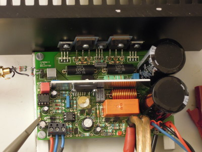 Q-Watt - Simple Audio Power Amplifier (110656)