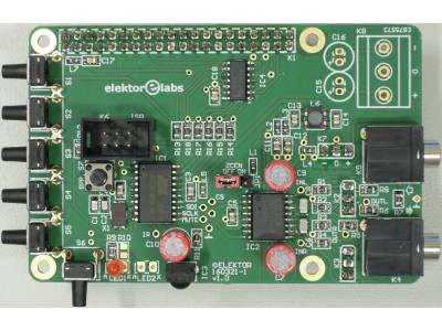 Ferngesteuerte Lautstärkeregelung für RPi Audio DAC
