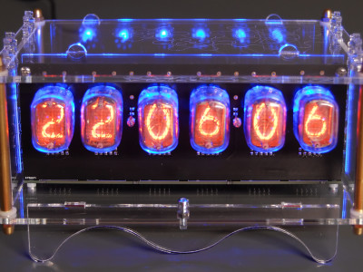 6-digit Nixie clock [150189]
