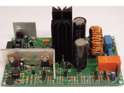 200W Class-D Audio Power Amplifier [150115]