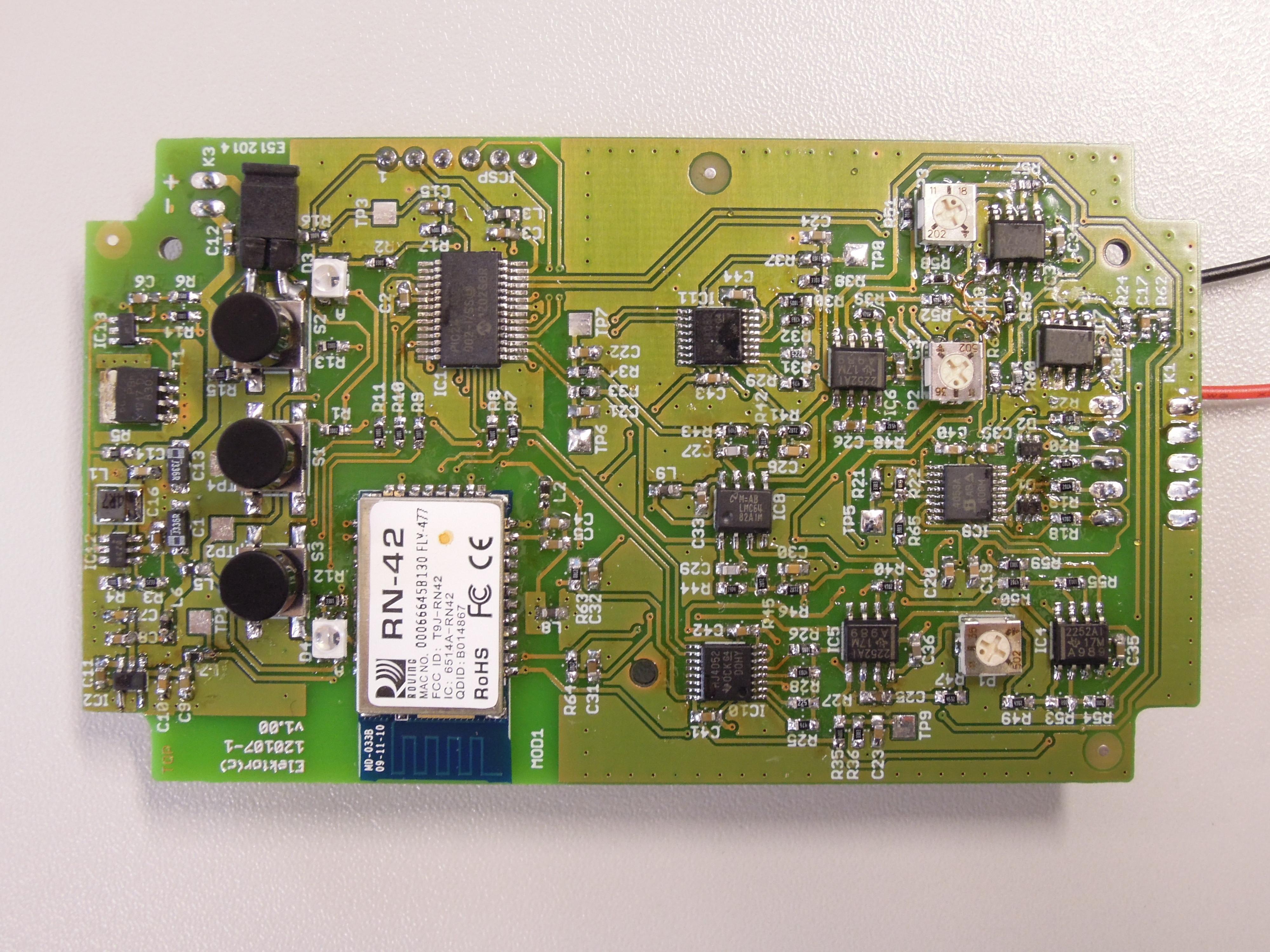 Android ECG Meter [120107] - Elektor-Labs